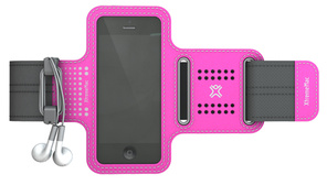 XtremeMac Sportwrap Rosa f. iPhone 5/ipod Touch 5