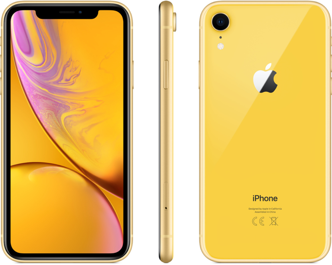 iPhone XR 64GB Gul