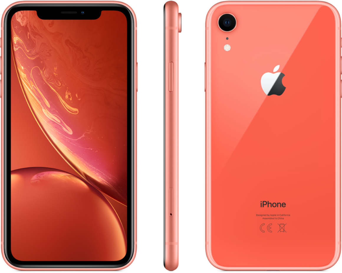 iPhone XR 64GB Korall