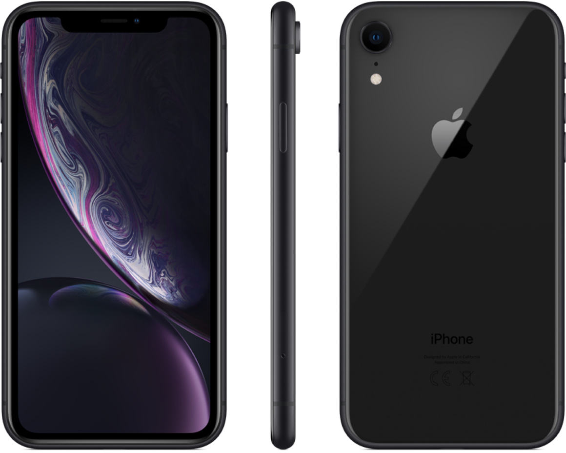 iPhone XR 256GB Svart