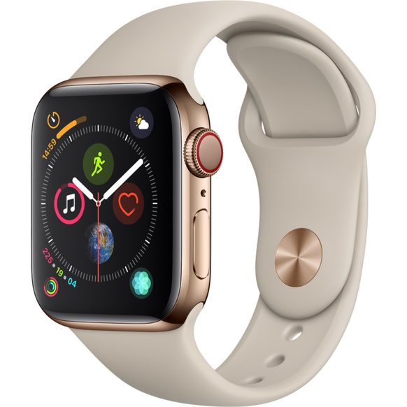Apple Watch Series 4 - Rostfri Stålboett