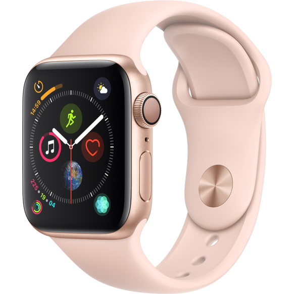 Apple Watch Series 4 - Aluminiumboett