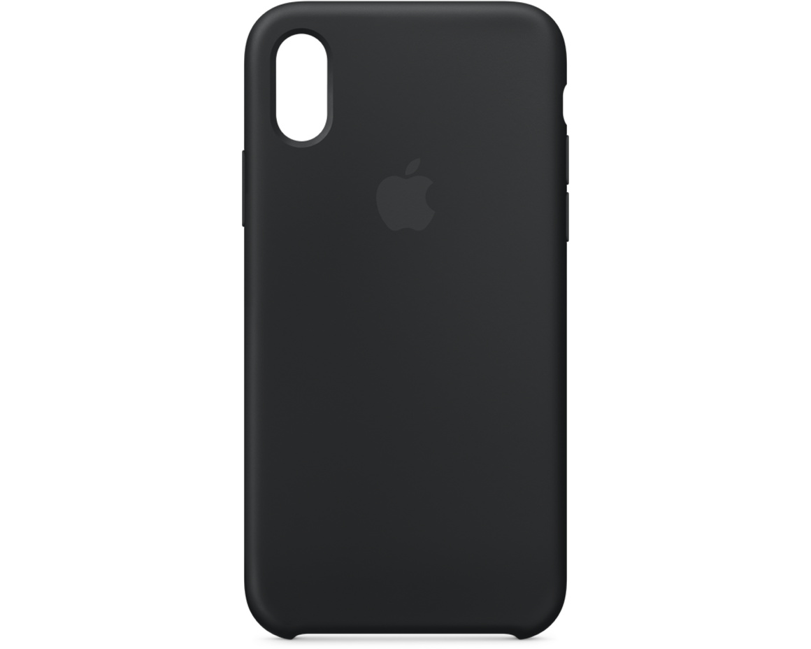 iPhone XS Max Silicone Case - Svart