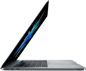 MacBook Pro 15  med Touch Bar i7 2.8GHz/16GB/256GB/Radeon Pro 555 2GB - Rymdgrå