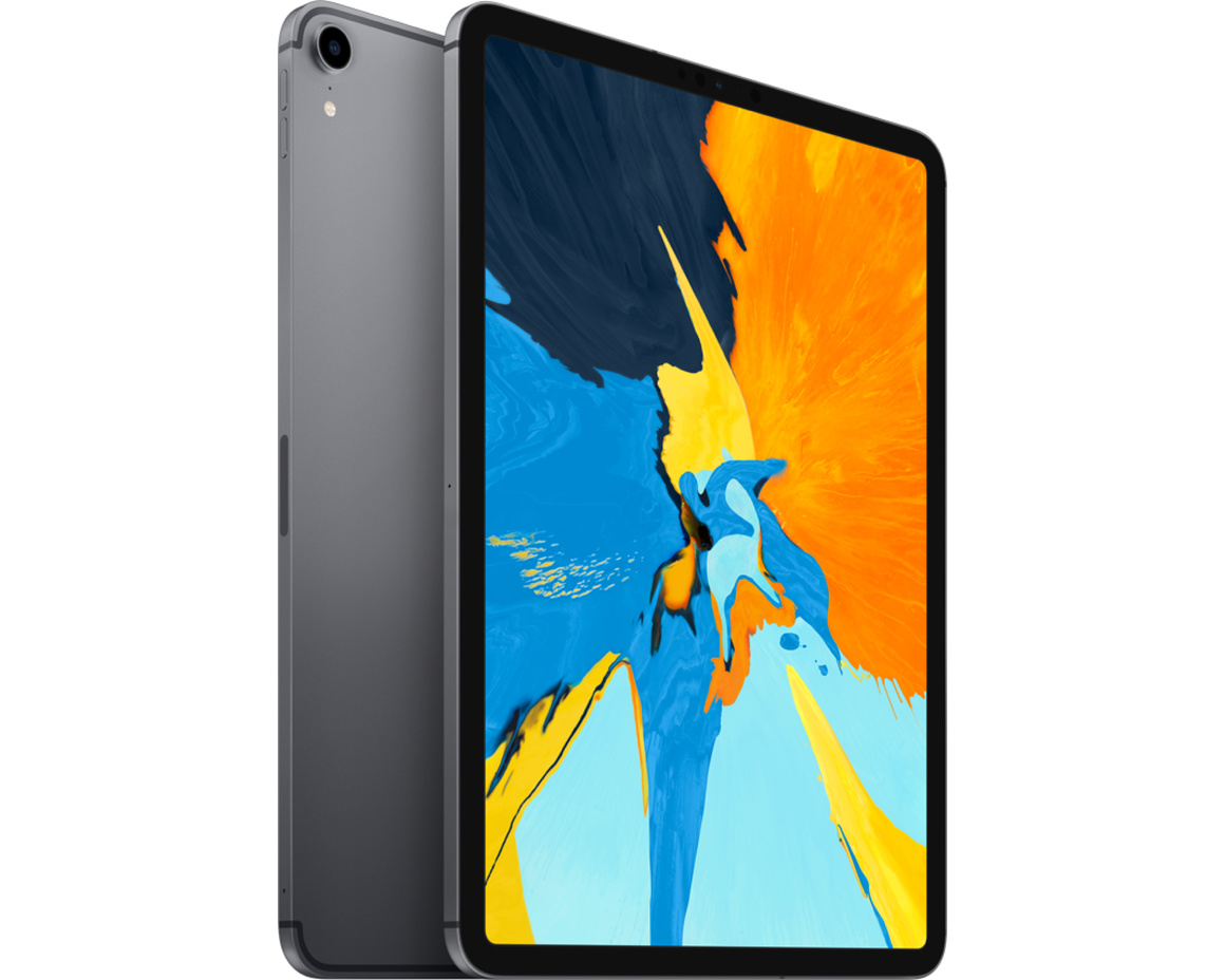 Apple iPad Pro 11 Wi-Fi + Cellular 64GB - Rymdgrå