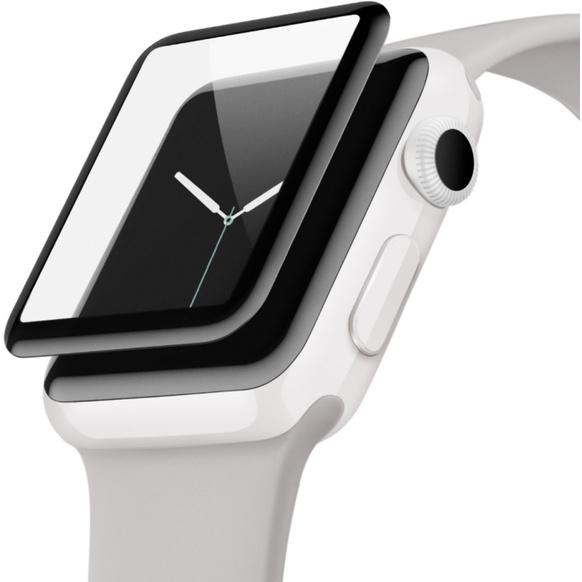 Belkin ScreenForce UltraCurve Skärmskydd för Apple Watch Series 2/3 38mm