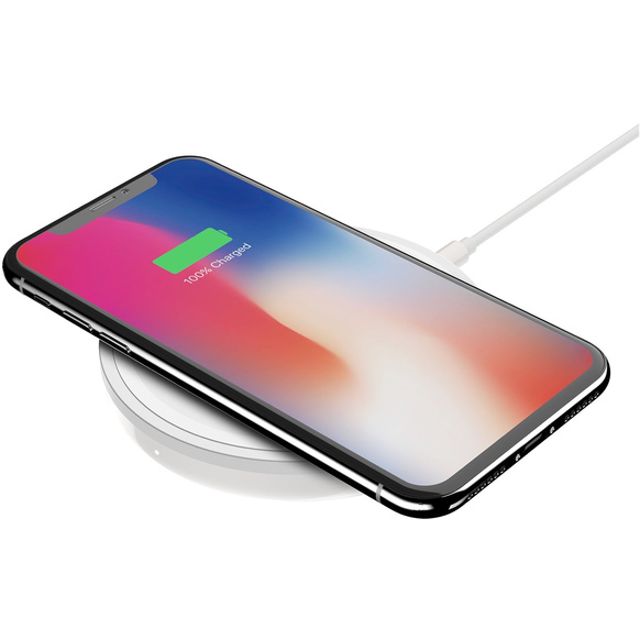 Belkin Boost Up Bold Wireless Charging Pad för iPhone 8/8 Plus/X - Vit