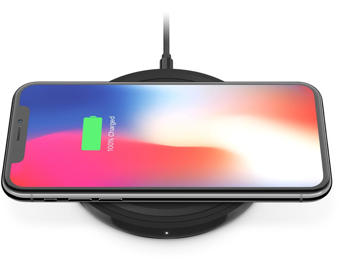 Belkin Boost Up Bold Wireless Charging Pad för iPhone 8/8 Plus/X - Svart