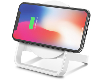 Belkin Boost Up Wireless Charging Stand för iPhone 8/8 Plus/X - Vit