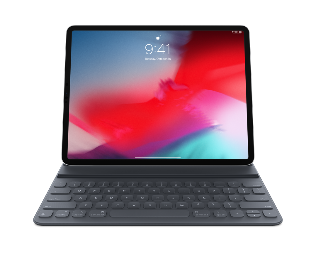 Smart Keyboard Folio for 12.9-tum iPad Pro (3rd Generation) - Svenska