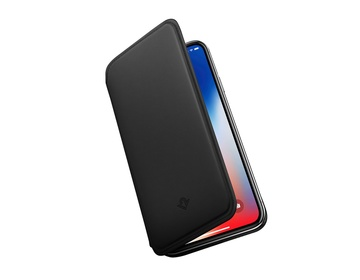 Twelve South SurfacePad för iPhone X Rakbladstunt Nappaläder - Svart