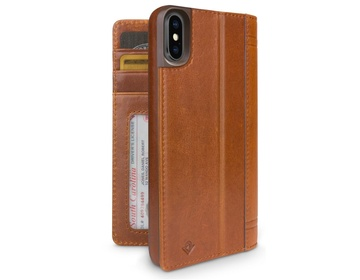 Twelve South Journal för iPhone XR - Cognac