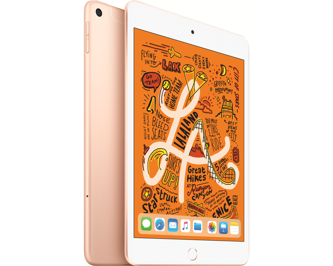 iPad mini Wi-Fi + Cellular 256GB - Guld