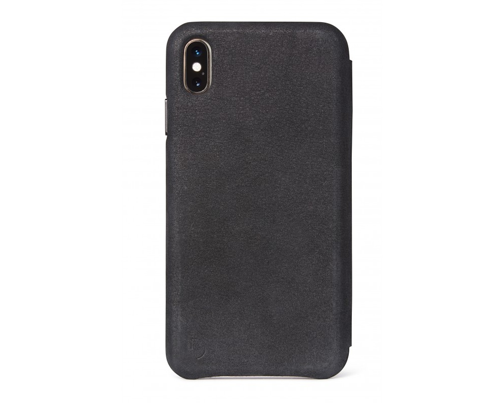 Decoded - Leather Slim Wallet för iPhone X/XS Svart