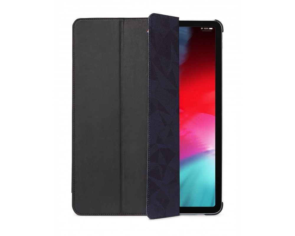 Decoded - Leather Slim Cover för iPad Pro 12,9 2018 Svart