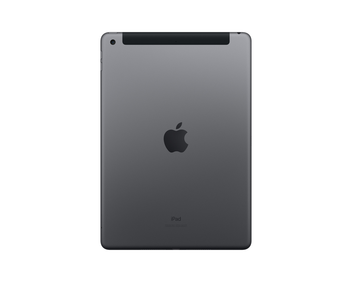 Apple iPad 10.2 Wi-Fi + Cellular 128GB - Rymdgrå