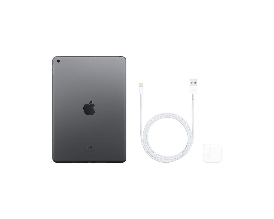 Apple iPad 10.2 Wi-Fi 32GB - Rymdgrå