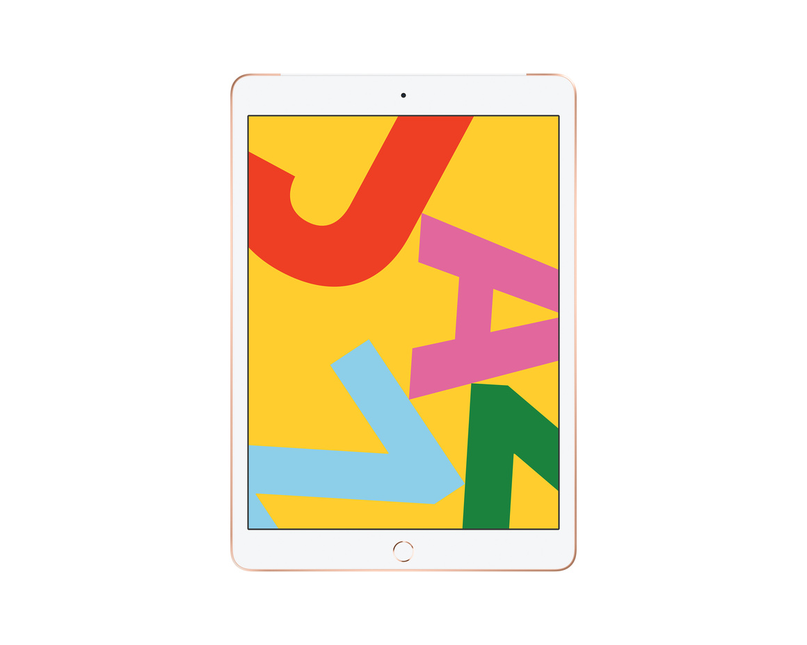 Apple iPad 10.2 Wi-Fi + Cellular 128GB - Guld