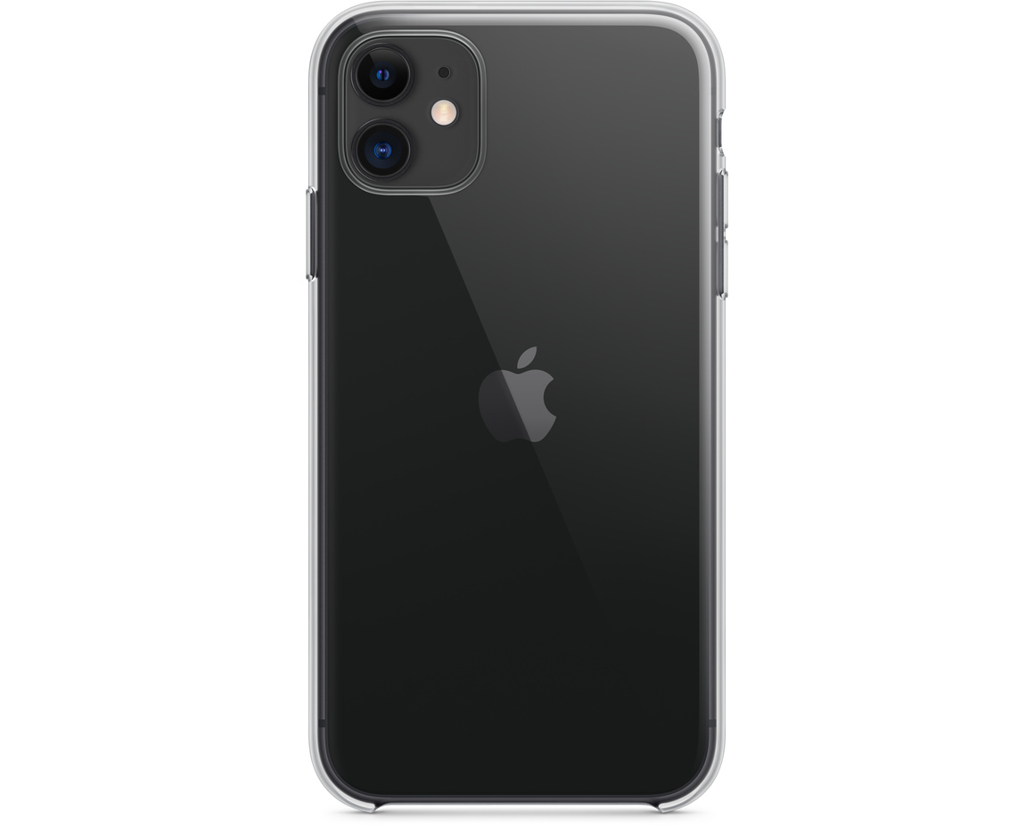 Apple iPhone 11 Transparent Skal