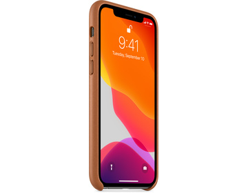 Apple iPhone 11 Pro Läderskal - Sadelbrun