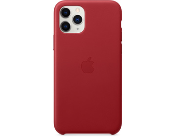 Apple iPhone 11 Pro Läderskal - (PRODUCT)RED