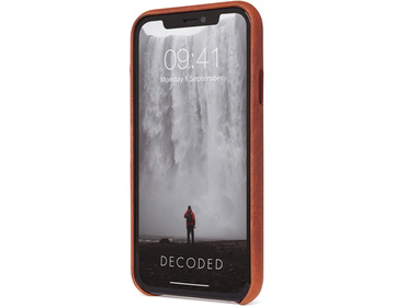 Decoded Full Grain Leather Backcover för iPhone 11 Pro - Brun