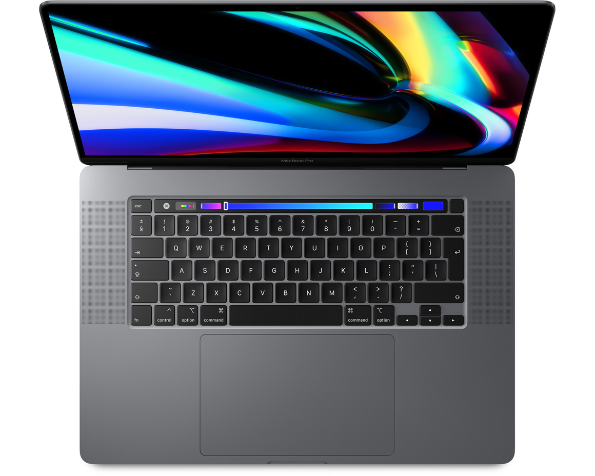 MacBook Pro 16 med Touch Bar i9 2.3GHz/32GB/1TB/Radeon Pro 5500M 4GB - Rymdgrå