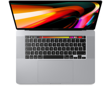 MacBook Pro 16 med Touch Bar i9 2.3GHz/16GB/1TB/Radeon Pro 5500M 4GB - Silver