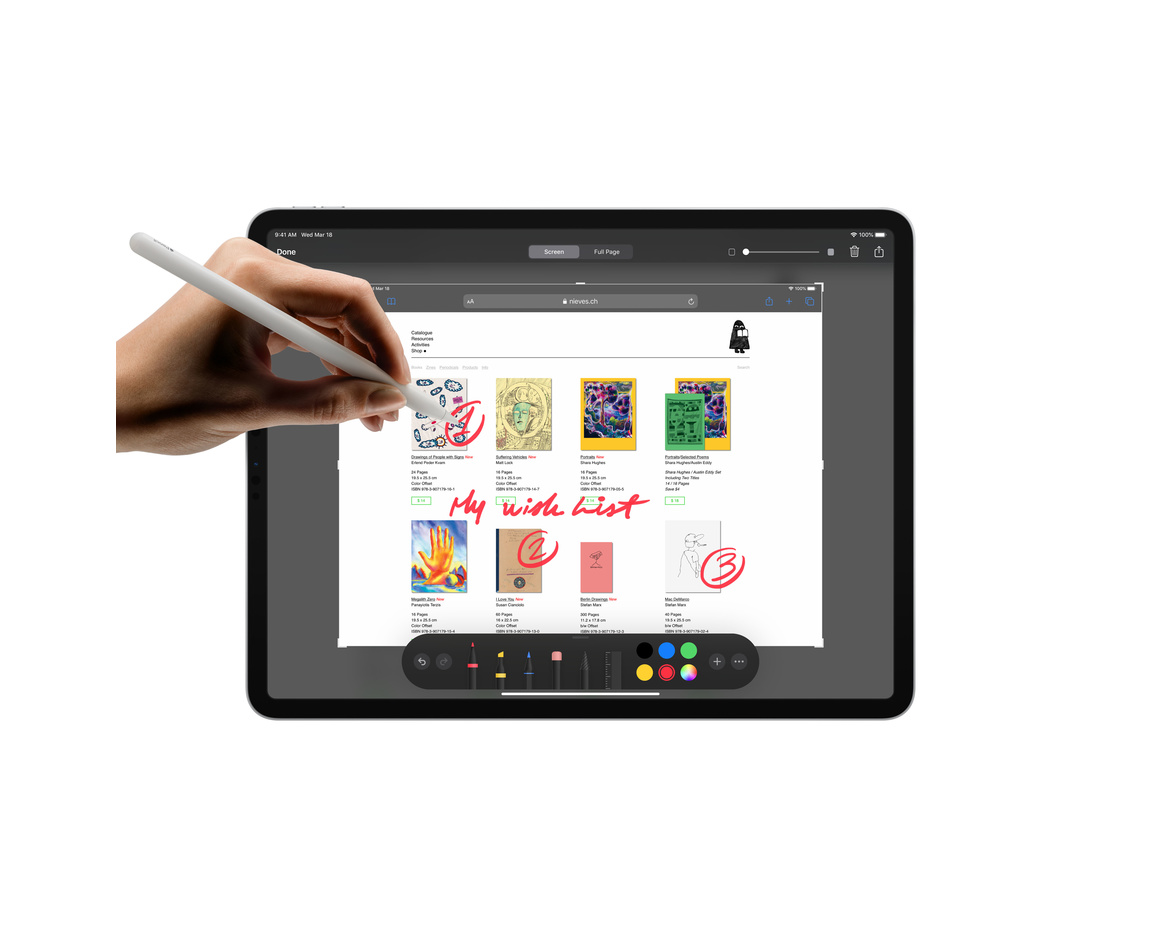 Apple iPad Pro 12.9 (2020) Wi-Fi 128GB - Rymdgrå