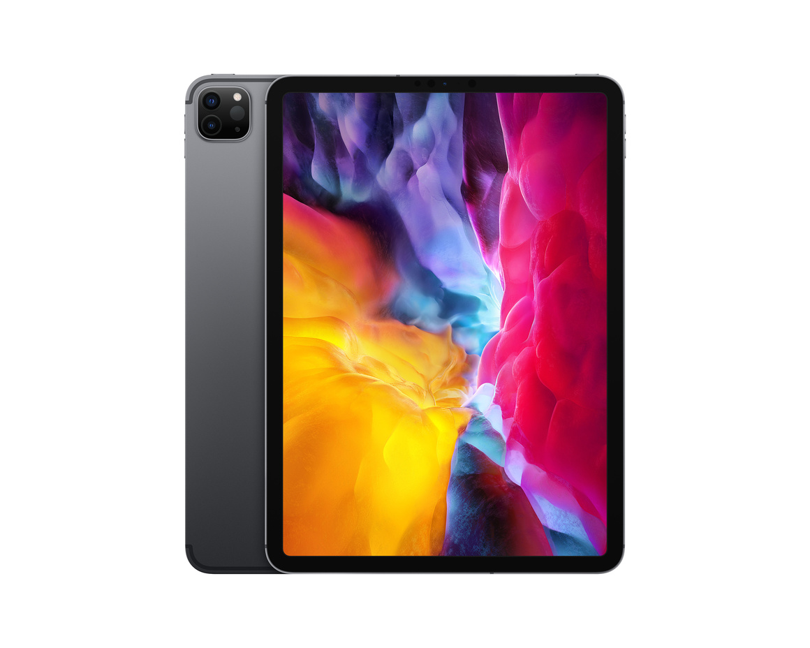Apple iPad Pro 11 (2020) Wi-Fi + Cellular 256GB - Rymdgrå