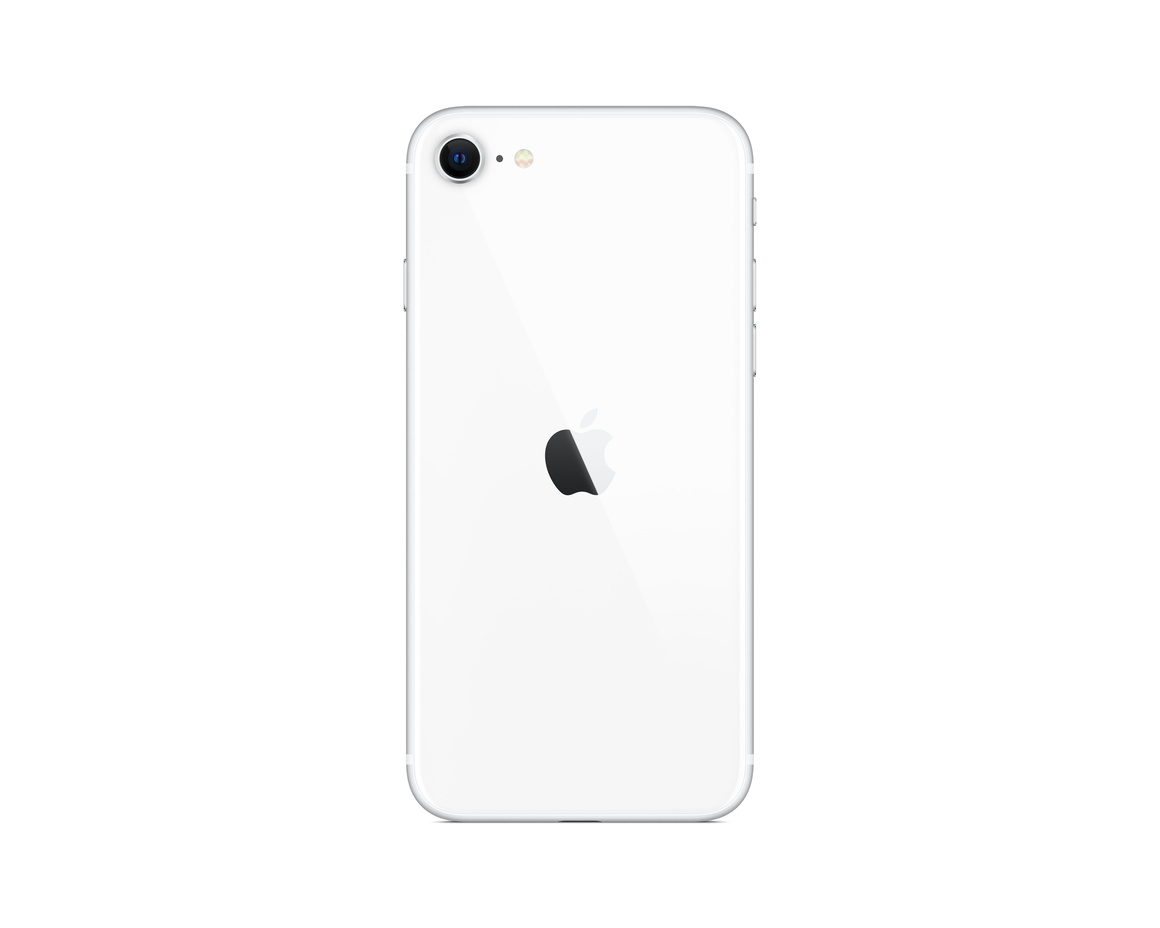 iPhone SE 64GB Vit