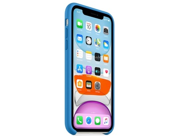 Apple iPhone 11 Silikonskal Surfblå