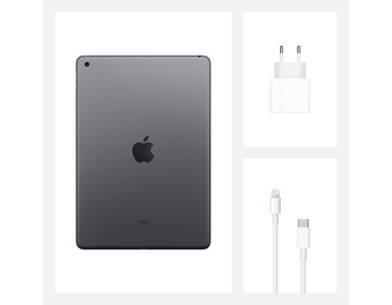 Apple iPad 10.2 (2020) Wi-Fi 32GB - Rymdgrå