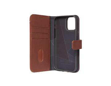 Decoded - Leather Detachable Wallet för iPhone 12 Pro Max Brun