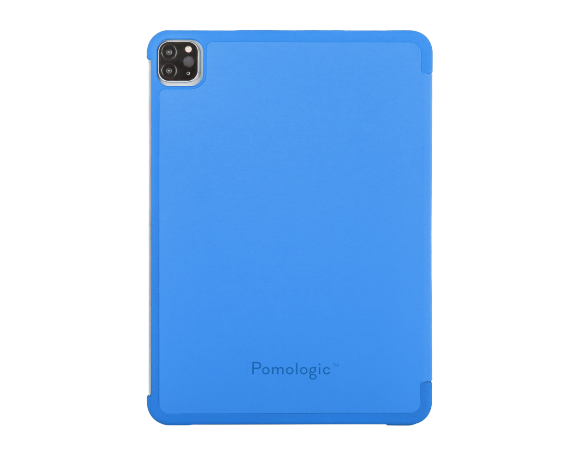 Pomologic - Book Case för iPad Pro 11 (2020) Blå