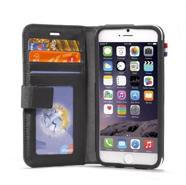 Decoded Leather Wallet Case iPhone 6 Plus - black
