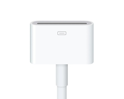 Apple Lightning till 30-pin Adapter (0.2 m)
