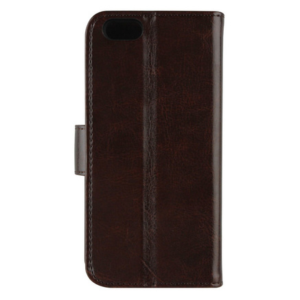 XQISIT Wallet Case Eman för iPhone 7 - Brun