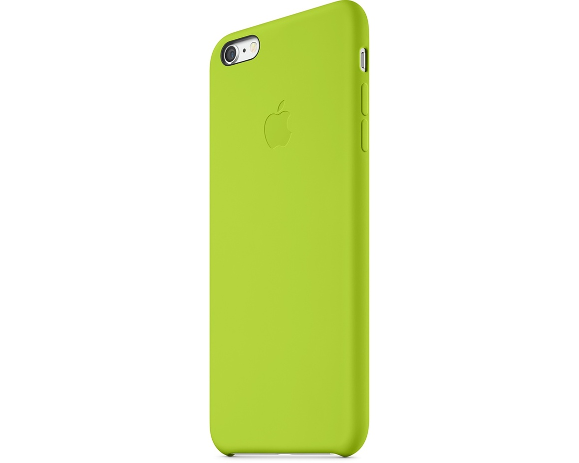 Apple iPhone 6 Plus Silicone Case - Green