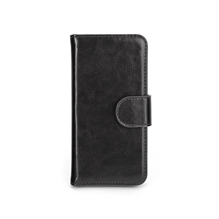 Xqisit Wallet Case Eman för iPhone 5S svart